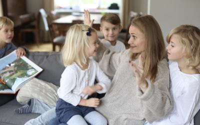 Dziecko potrzebuje szczęśliwej i radosnej mamy.